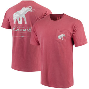 Alabama Crimson Tide - Elephant Vintage State Flag - Tuskwear Comfort Colors