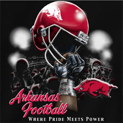 Arkansas Razorbacks Football T-Shirts Where Pride Meets Power