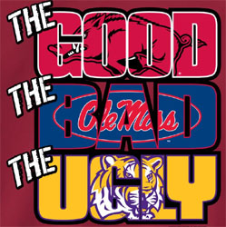 Arkansas Razorbacks Football T-Shirts The Good The Bad The Ugly