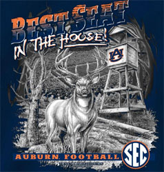 Auburn Tigers Football T-Shirts - Best Seat In The House