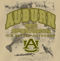 Auburn Tigers Football T-Shirts - SEC Sportsman It's Better Outdoors