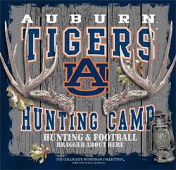 Auburn Tigers T-Shirts - Hunting Camp Football - Bragged About Here