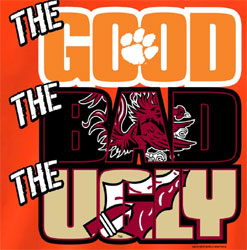 Clemson Tigers T-Shirts - The Good The Bad The Ugly