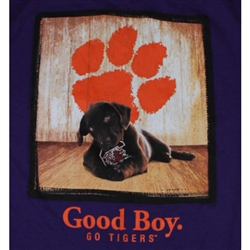 Clemson Tigers Football T-Shirts - Man's Best Friend - Good Boy