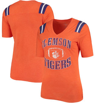 Cute Clemson Shirts - Tigers Artistic Womans T-Shirt Color Orange
