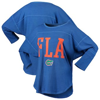 Cute Florida Gator Shirts - Striped Jersey T-Shirt Codes Vintage 3/4 Sleeve Color Royal