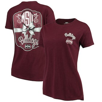 Cute Mississippi State Shirts - Bulldogs Lacy Jade Boyfriend By Pressbox Color Maroon