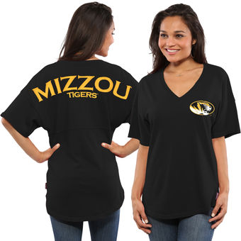 Cute Mizzou Shirts - Tigers Oversized Spirit Jersey Color Black