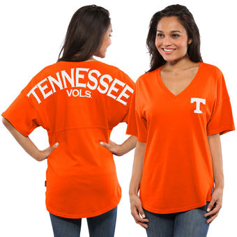 Cute Tennessee Shirts - Tennessee Volunteers Spirit Jersey Oversized T-Shirt