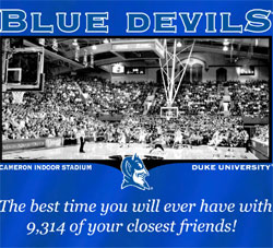 Duke Blue Devils Basketball T-Shirts - Welcome To My House