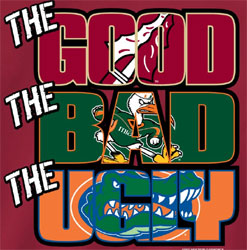 Florida State Seminoles Football T-Shirts - The Good The Bad The Ugly