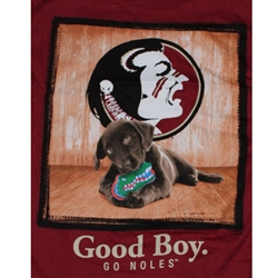 Florida State Seminoles Football T-Shirts - Man's Best Friend - Good Boy