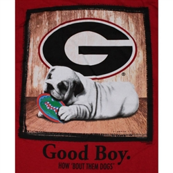 Georgia Bulldogs Football T-Shirts - Man's Best Friend - Good Boy