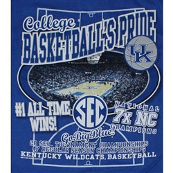 Kentucky Wildcats Basketball T-Shirt - UK Roundball Reload