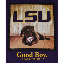 LSU Tigers Football T-Shirts - Man's Best Friend - Good Boy Tee