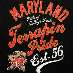 Maryland Terrapins Football T-Shirts - Pride Of College Park
