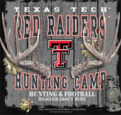 Texas Tech Red Raiders Football T-Shirts - Hunting Camp Bragged About