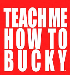 Wisconsin Badgers Football T-Shirts - Teach Me How To Bucky